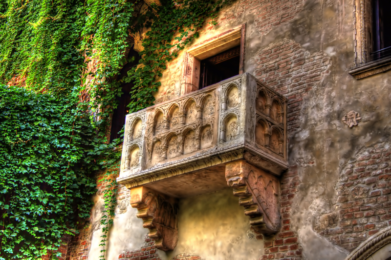 Juliet's Balcony is a must-see attraction of Verona.